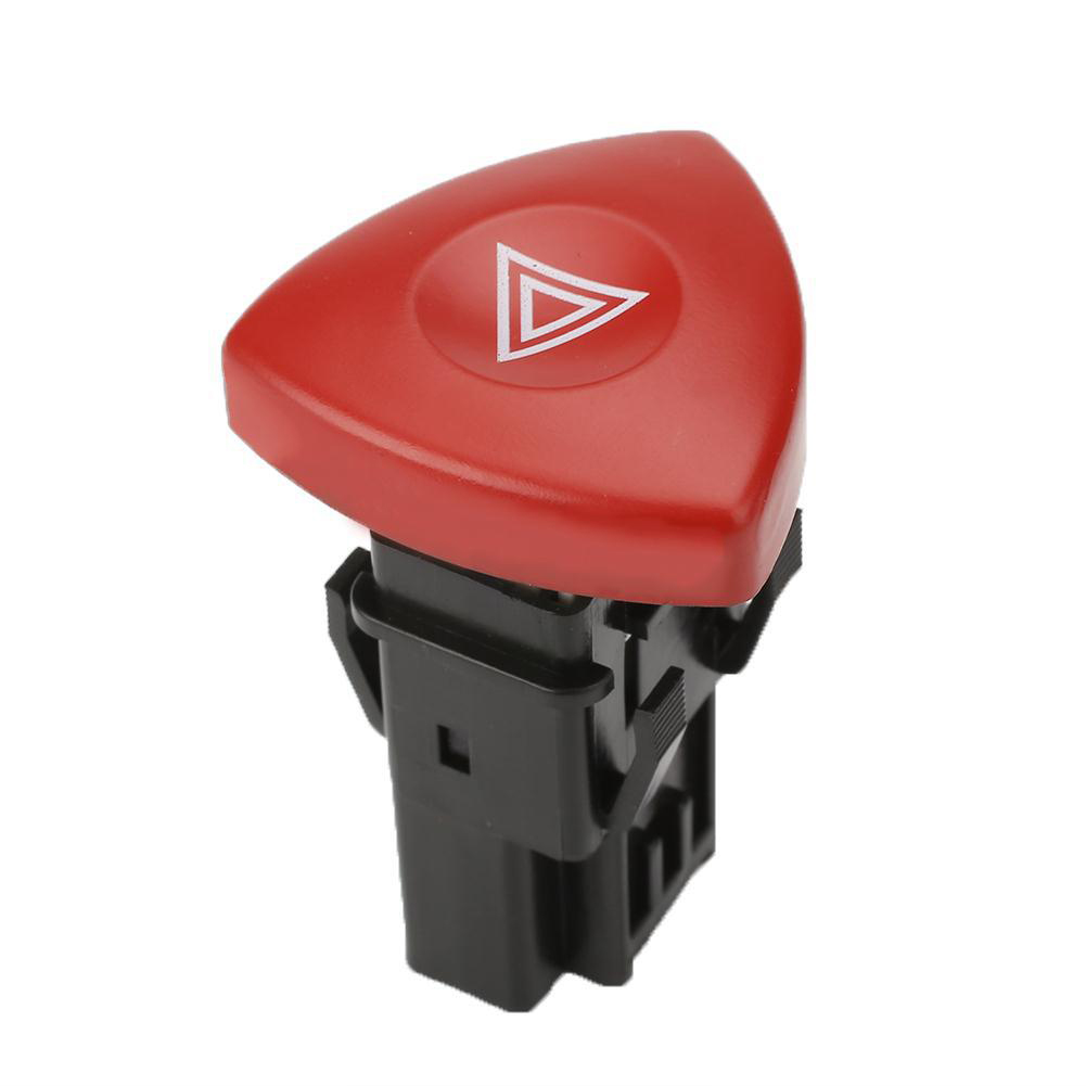 820044272 Hazard Warning Light Switch Red Button Fit for Renault Laguna Master  Red + black