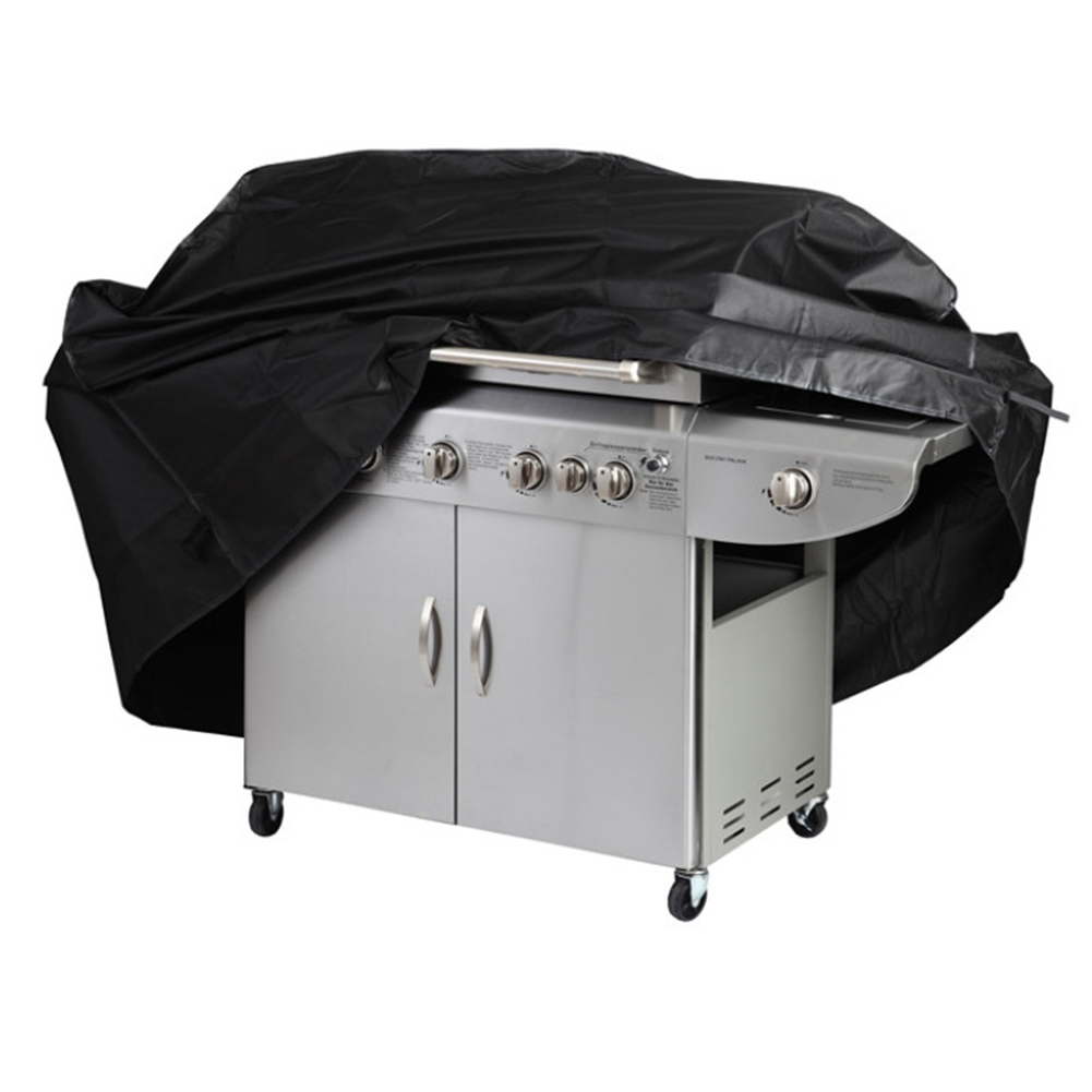 190T Oxford Cloth Sun / Rain / Dust Protection BBQ Cover Baking Machine Rain Cover S (145*61*117cm)