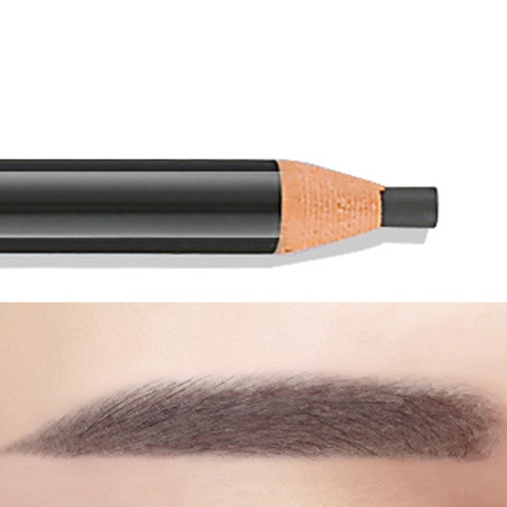 Eyebrow Pencil Waterproof Colorfast Pen Long-lasting Eyebrow Enhancer Pen 6# gray