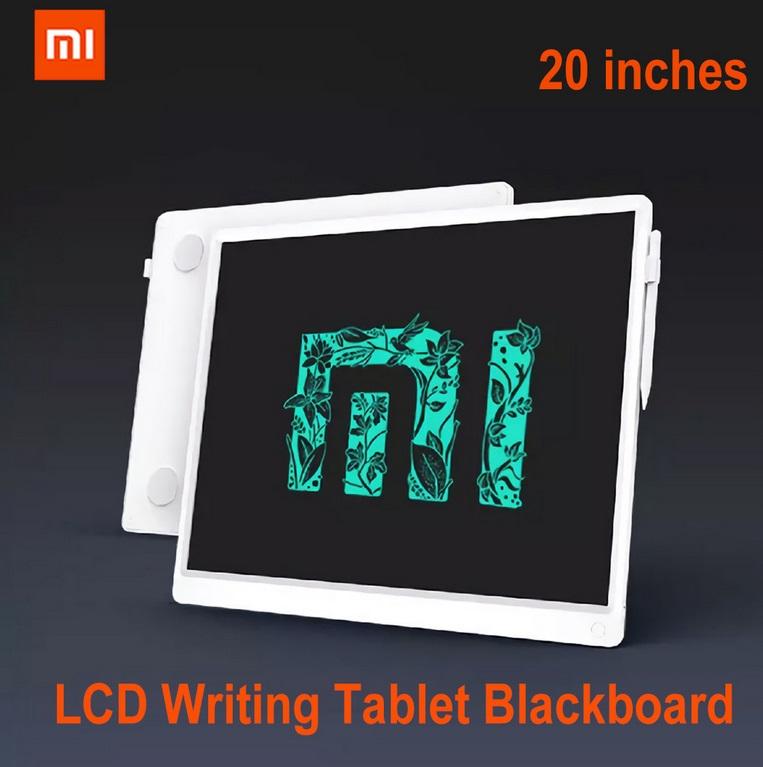 Original XIAOMI 20-inch Children's Drawing Tablet Graffiti Smart Handwriting Lcd Board white