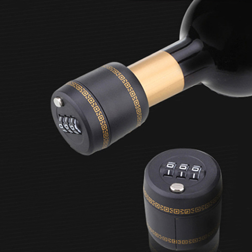 Bottle Top Combination Lock