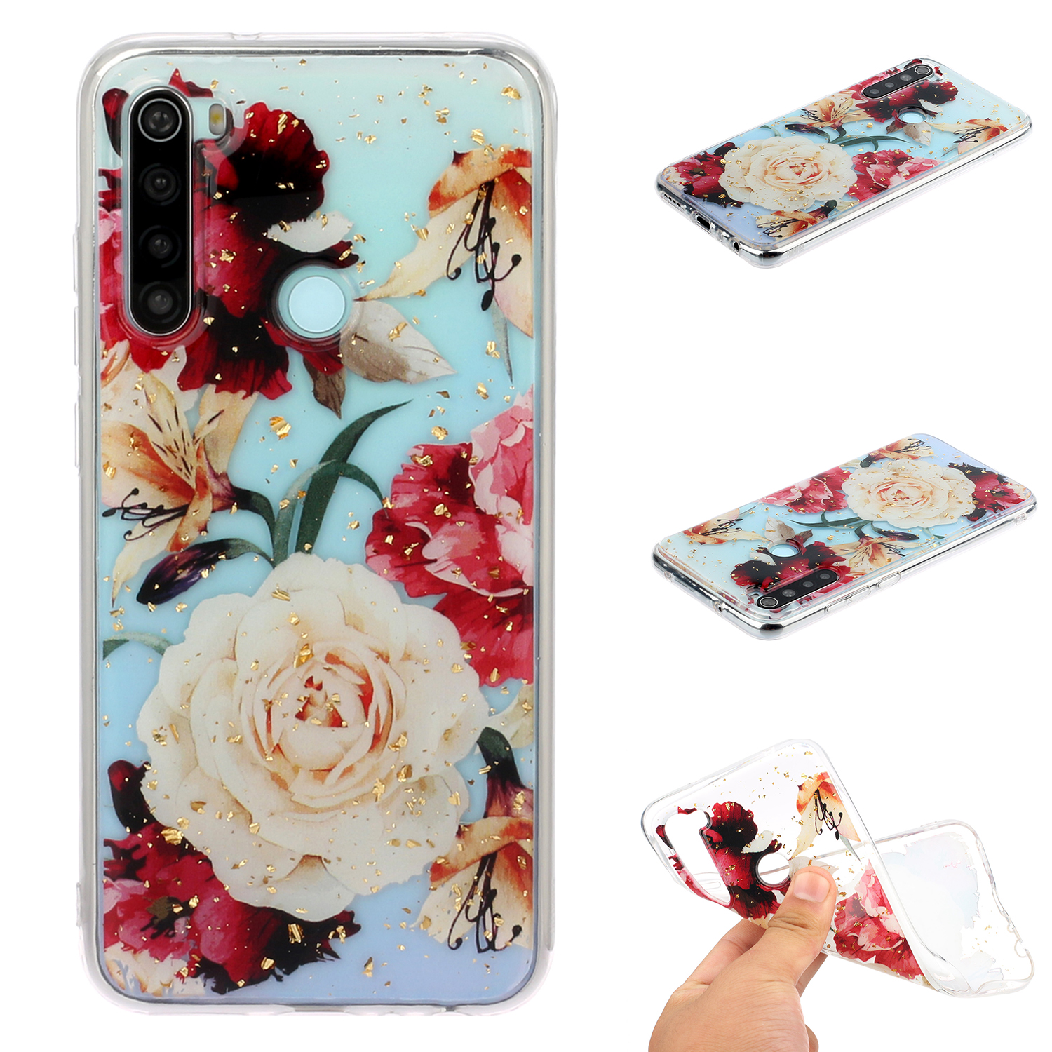 For Redmi Note 8 / Redmi Note 8 Pro Cellphone Cover Beautiful Painted Pattern Comfortable Wear TPU Phone Shell 10