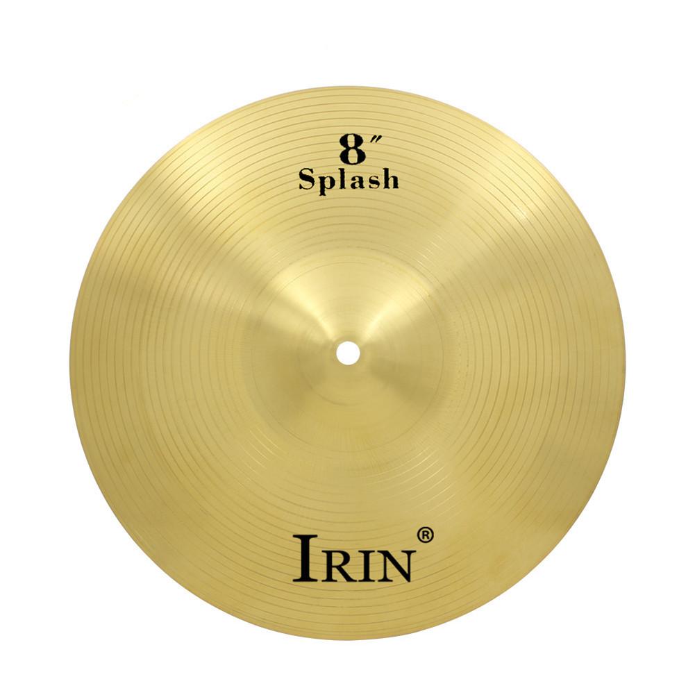 IRIN 8/12/14 Inch Brass Alloy Crash Ride Hi-Hat Cymbal  8 inches