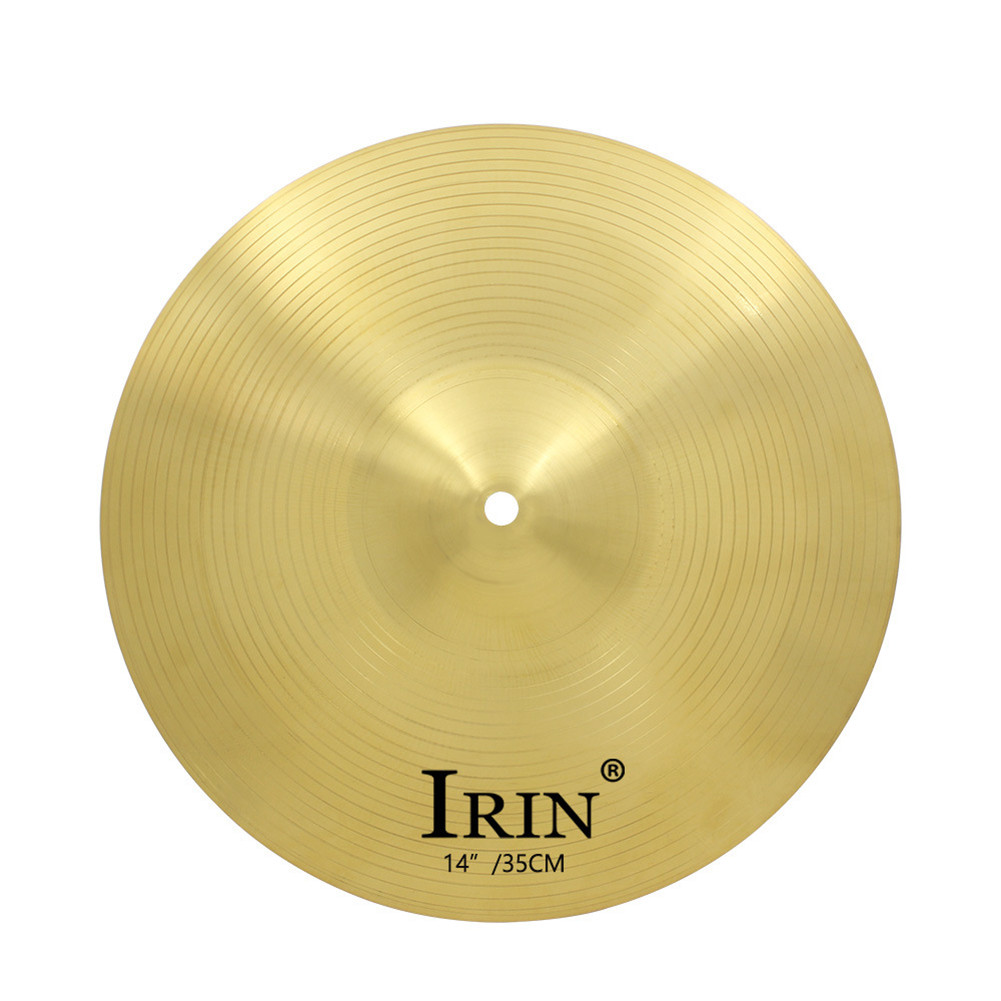 IRIN 8/12/14 Inch Brass Alloy Crash Ride Hi-Hat Cymbal  14 inches
