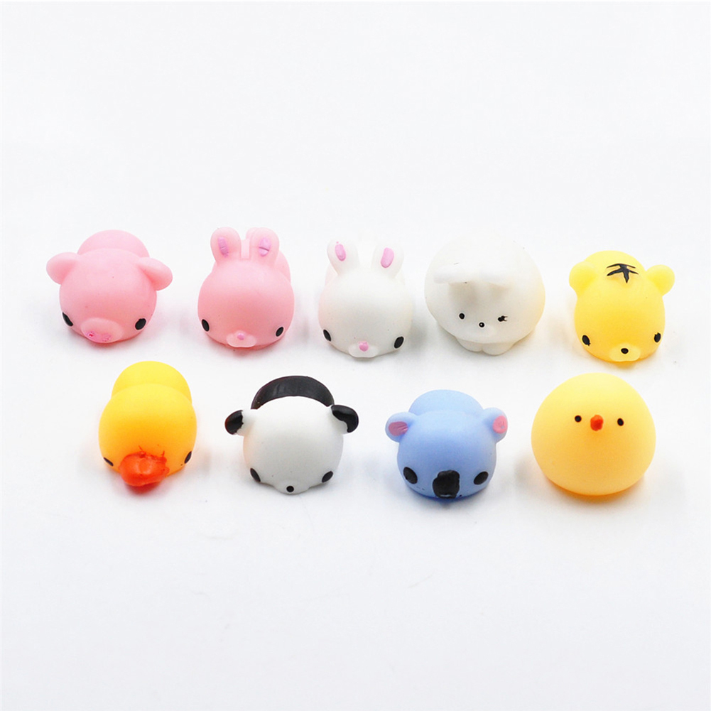 Mochi Mini Squishy Animals Toys,Random Squishies for Collection Gift, Decorative Props or Stress Relief