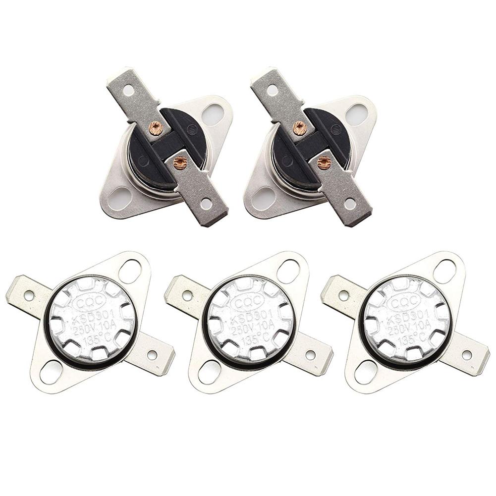 5 Pcs KSD301 Thermal Control Switch