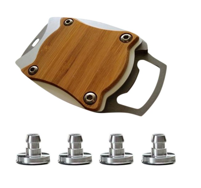 Wine Beverage Can Opener Multifunctional Bottle Opener with Replacement Accessories