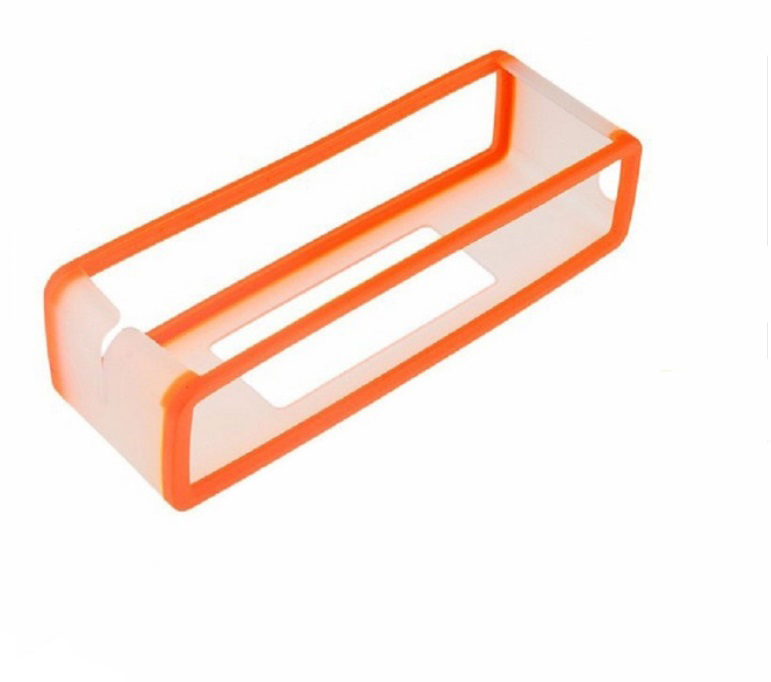 Portable Silicone Case for Bose SoundLink Mini 1 2 Sound Link I II Bluetooth Speaker Protector Cover Skin Box Speakers Pouch Bag Orange