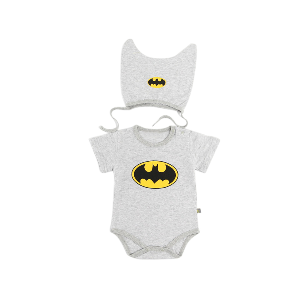 2Pcs/Set Baby Infant Girls Boys Short Sleeve Romper Set