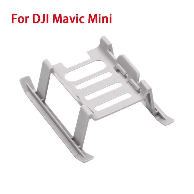 Landing Gear for DJI Mavic Mini Extension Support Leg Safe Landing Quick Release Heightened Stand Remote Control Airplane Accessories gray