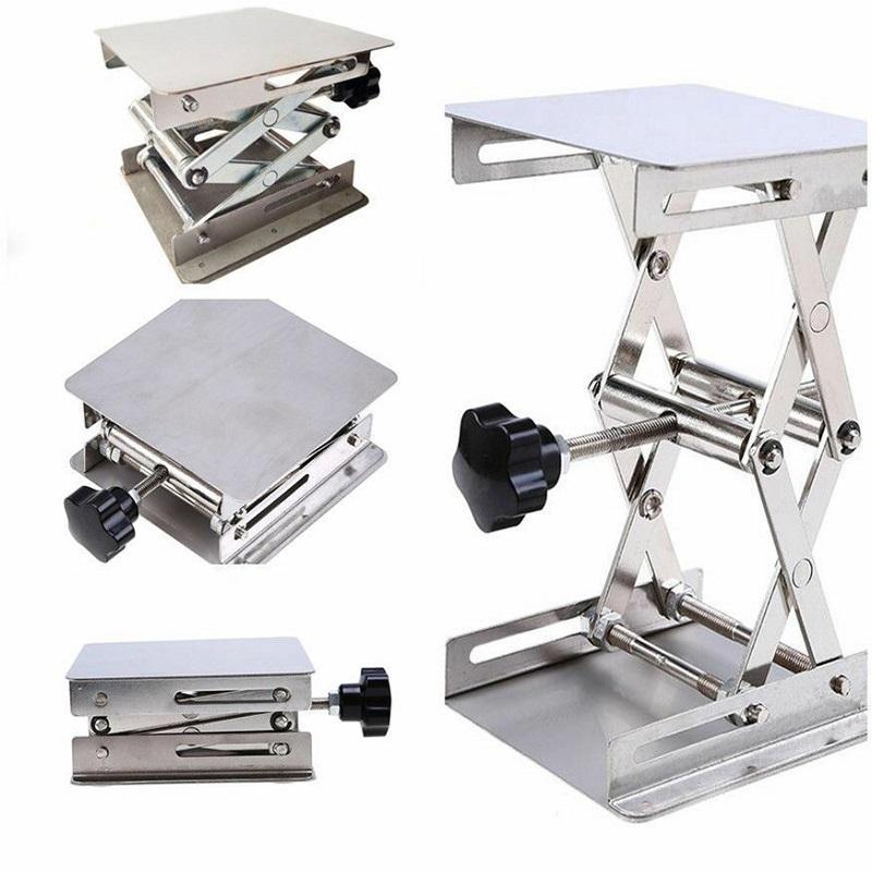 Mini Lab-Lift Lifting Platforms Lab Tool Jack Scissor Stand Rack Lab-Lifting Kit 10*10cm