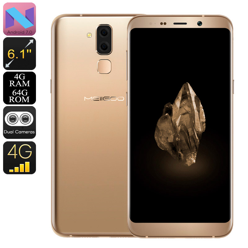 Meiigoo S8 Android Phone (Gold)