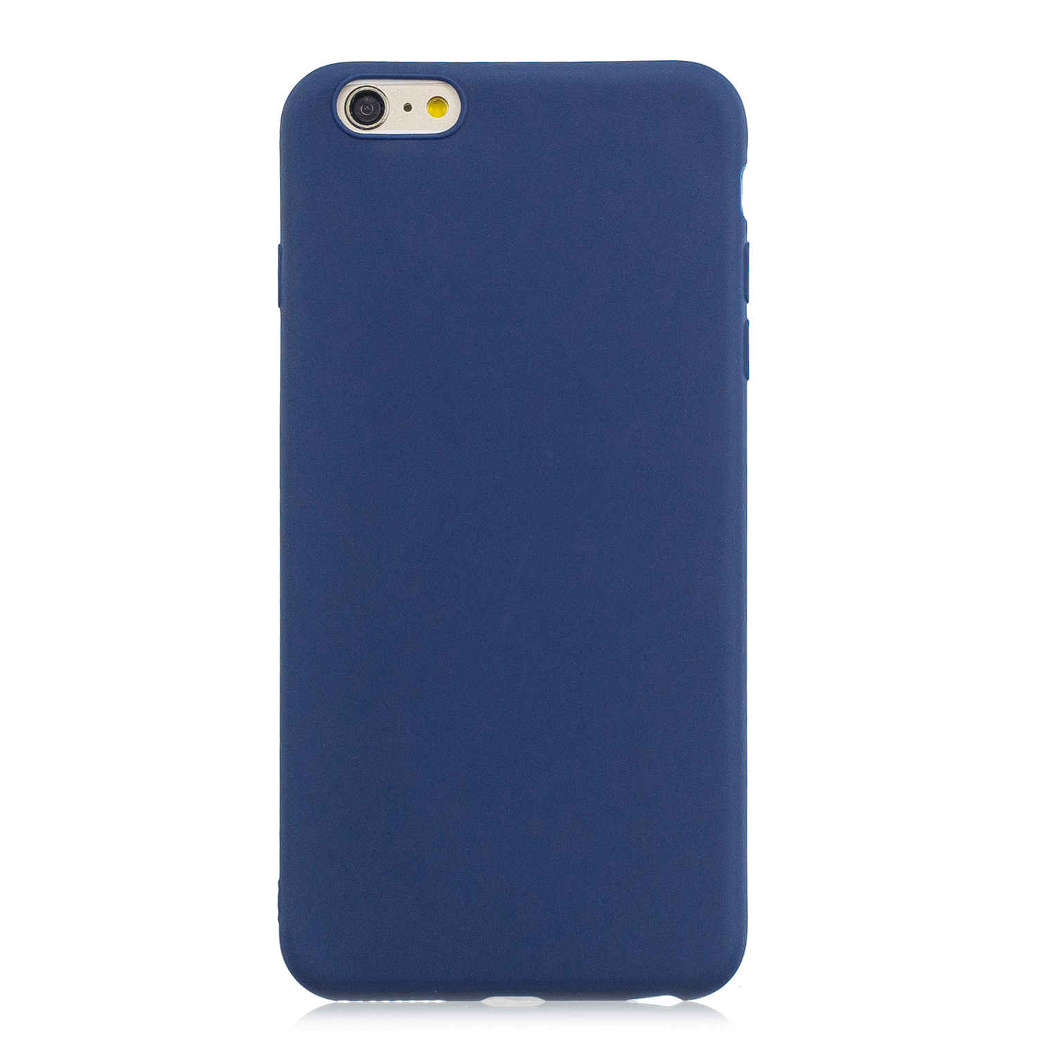 for iPhone 6/6S Lovely Candy Color Matte TPU Anti-scratch Non-slip Protective Cover Back Case Navy