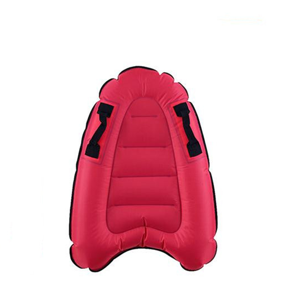 Outdoor Inflate Surfboard Portable Board Adult Children Swimming Leaning Board Sea Surfing Board rose Red