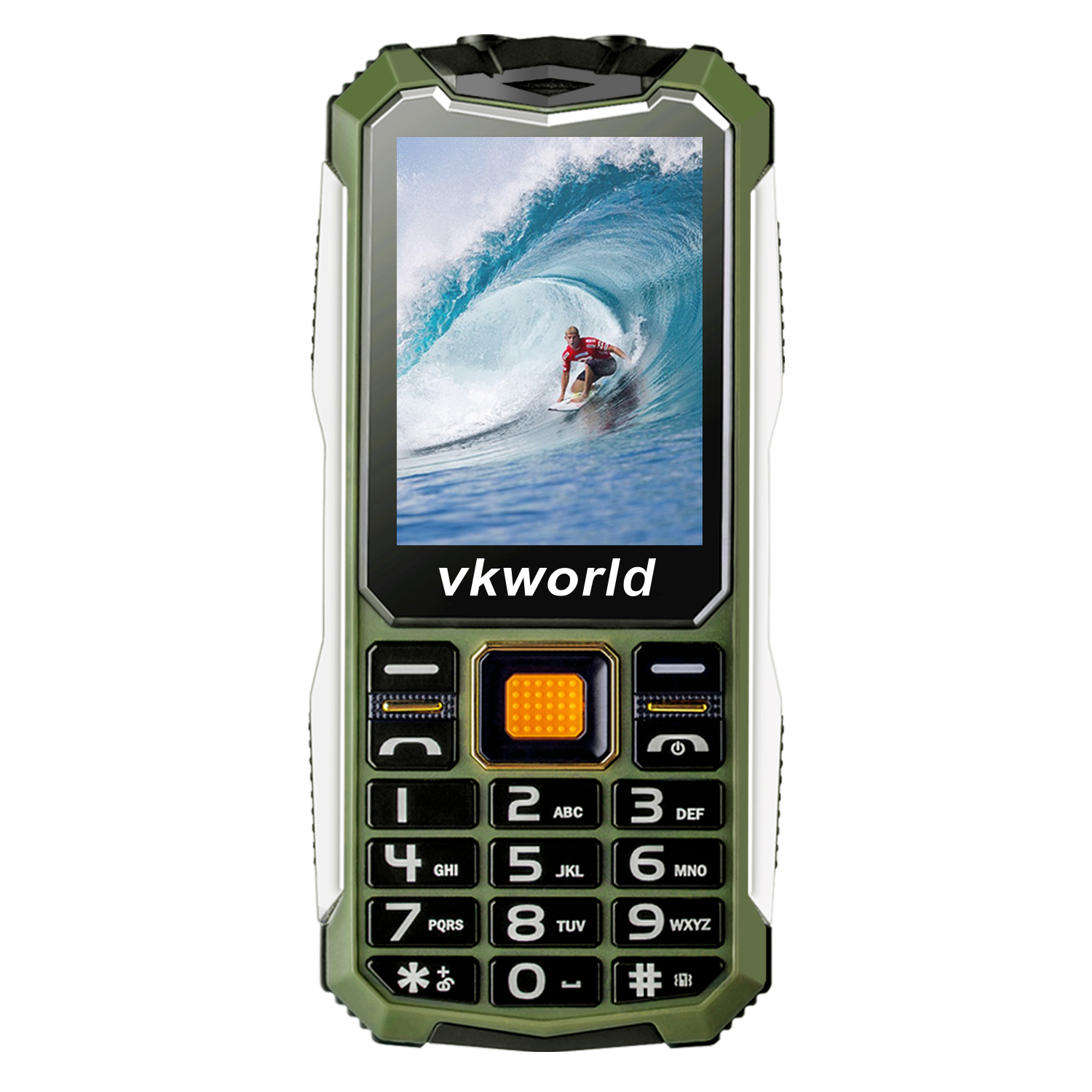 Vkworld V3S Rugged Phone Green