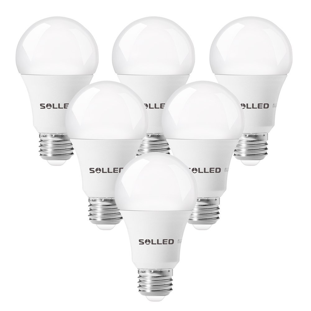 Wholesale 6 Packed A19 E26/E27 LED Bulb 5000K From China