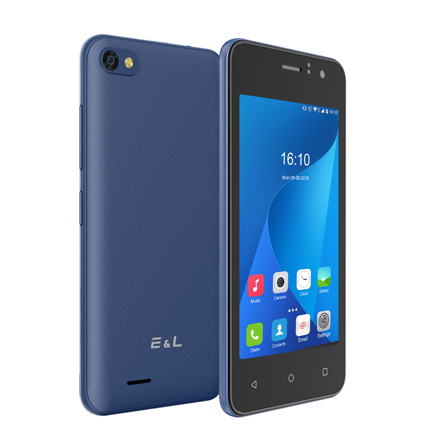 EL W40 3G Android 4.0 inch Smartphone Blue