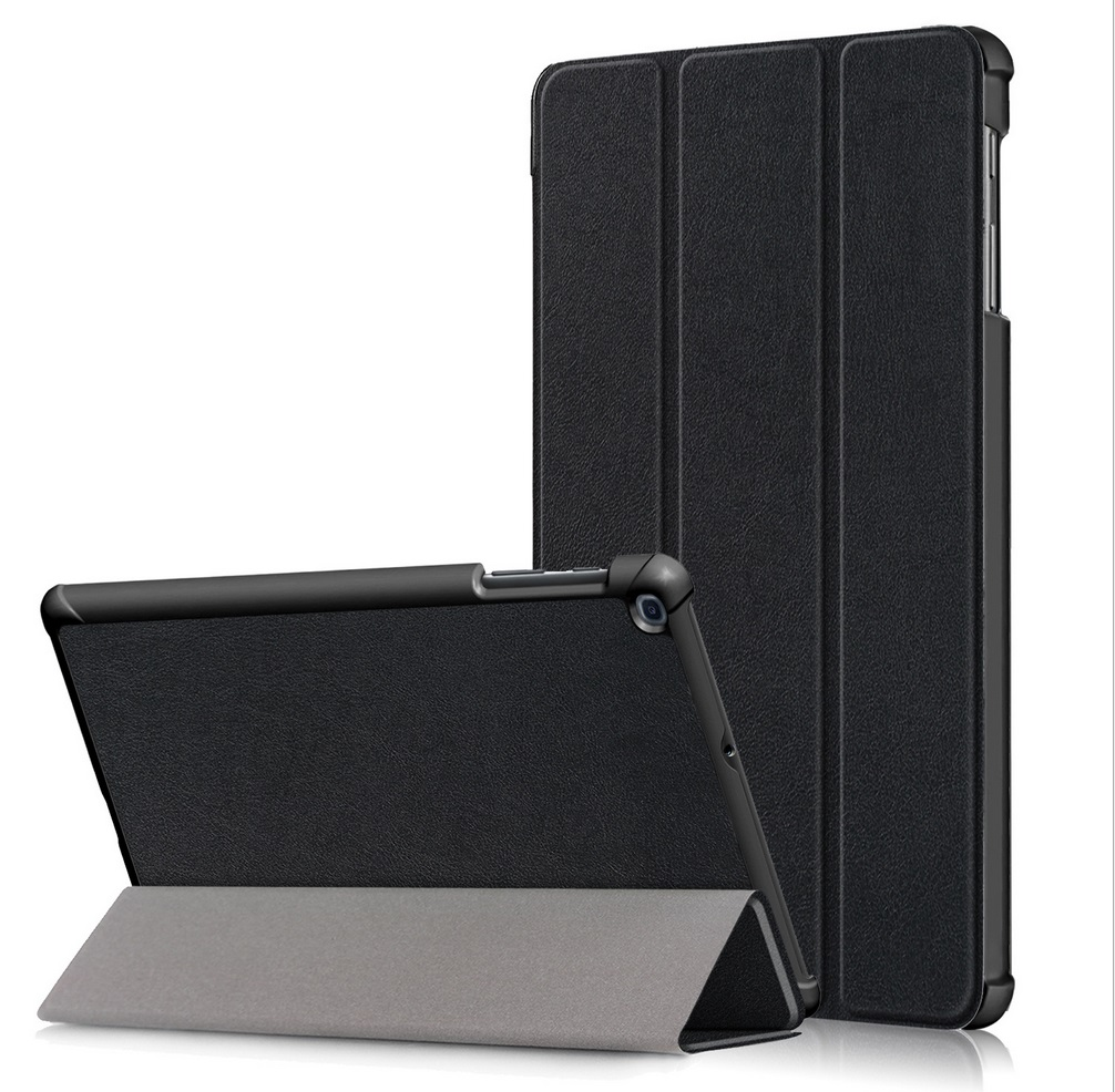 For Samsung Tab A 10.1 2019 T510 t515 Tablet PC Protective Case Flip Type black