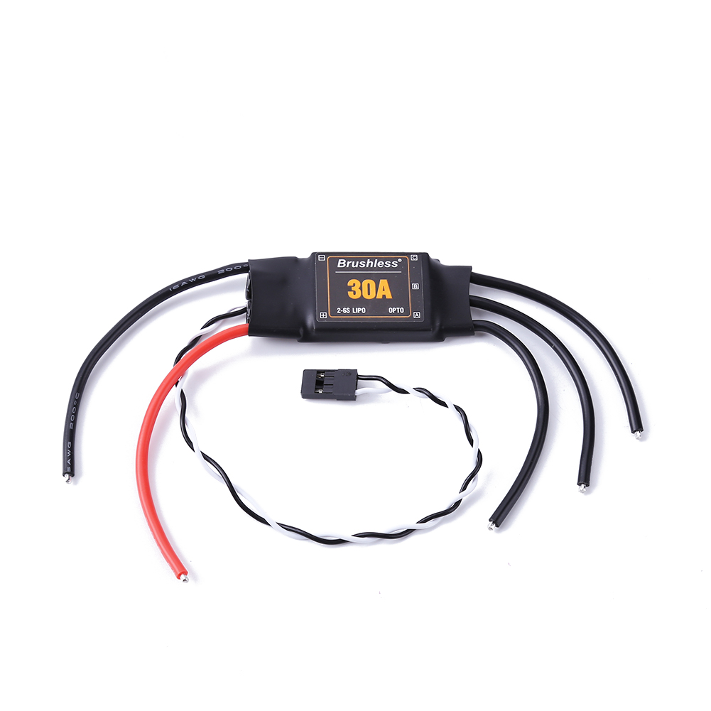 Brushless XRotor 2-6S Lipo 30A Brushless ESC No BEC High Refresh Rate for QAV210 250 Multi-axle Aircraft Copters Long