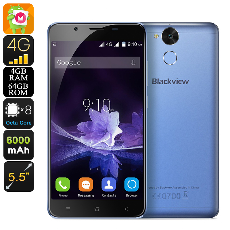 Blackview P2 Smartphone (Blue)