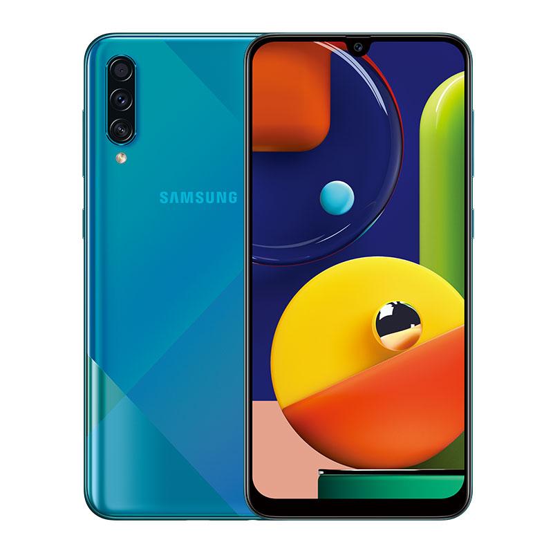 Samsung Galaxy A50S 6GB 128GB 6.4inches FHD+ Super Infinity U-display Octa-Cor 48MP 4000mAh Battery NFC Android Smartphone green_6+128GB