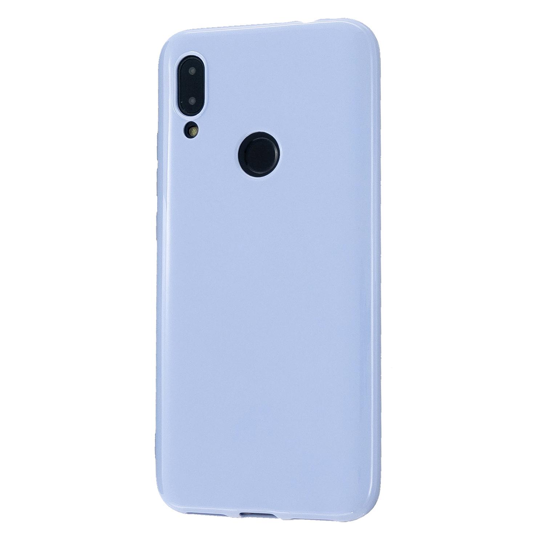 For Redmi 7/7A/Note 7/Note 7 Pro Cellphone Cover Overall Protection Soft TPU Anti-Slip Anti-Scratch Phone Case Taro purple