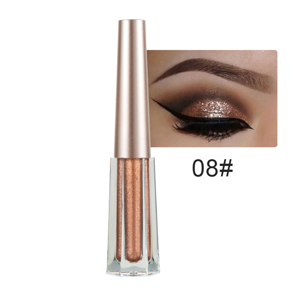 Women Shinny Liquid Eyeshadow Glow Eyeliner