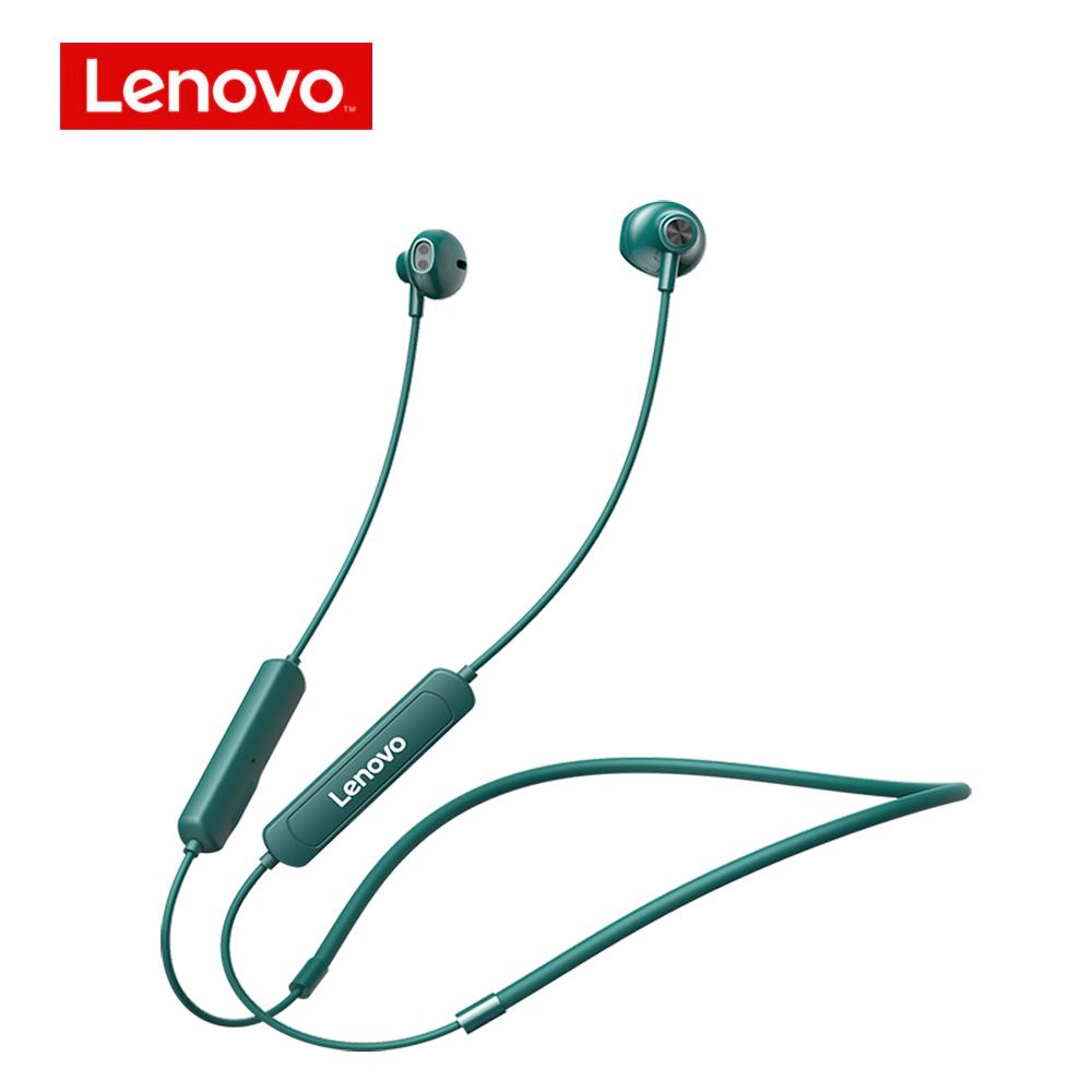Original LENOVO SH1 BT5.0 Wireless Earphones Sports Earphone With Dual Noise Reduction Waterproof Earphones Green