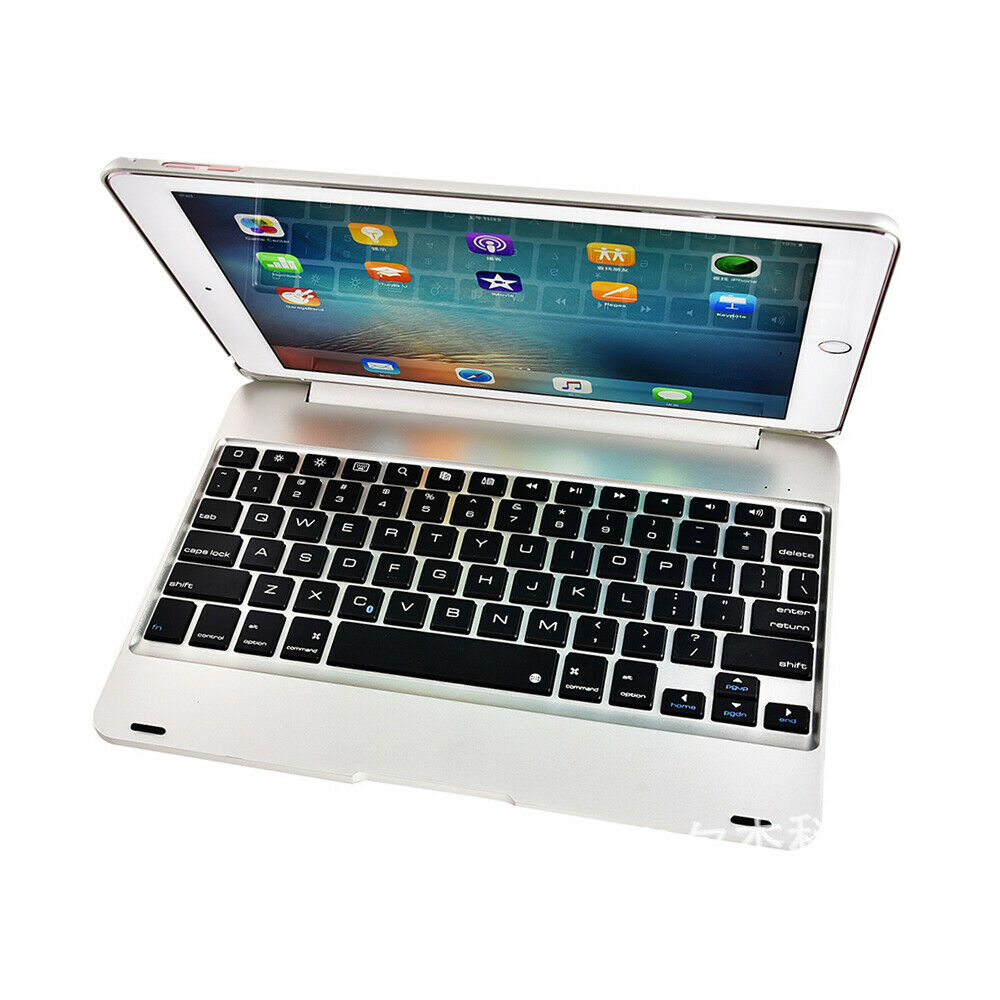 iPad Air1 Air2 Pro Bluetooth Keyboard Silver
