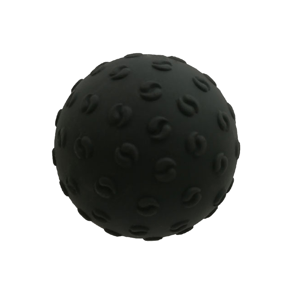 Massage Ball Lightweight Fitness Training Lacrosse Ball Body Yoga Sport Exercise Yoga Massage Ball black