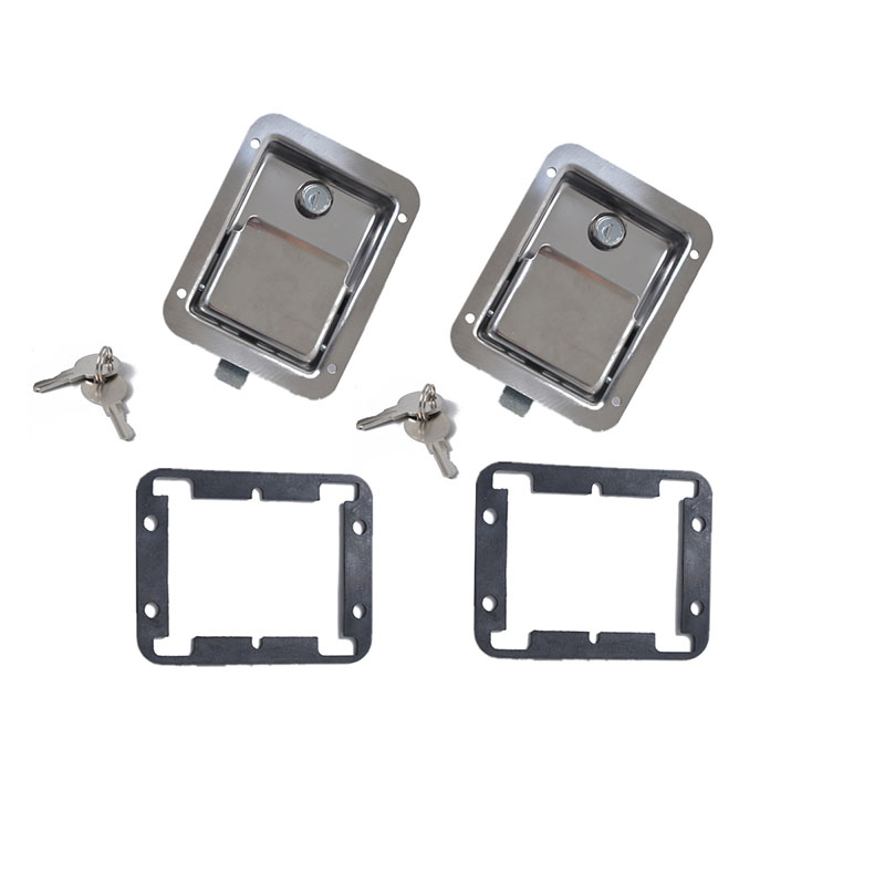 Stainless Steel Paddle Latch Paddle Entry Door Lock Tool Box Lock
