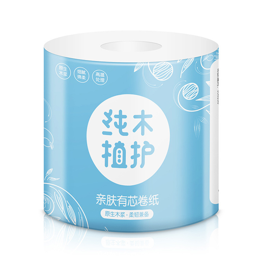Toilet Paper 4 Layer No Fragrance Roll Paper for Home Kitchen Toilet 1 roll