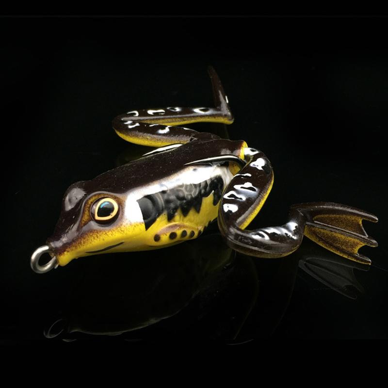 5cm/12g Frog Lure Crankbait Tackle Crank Bait Soft Fishing Lures Bionic Bait 12g