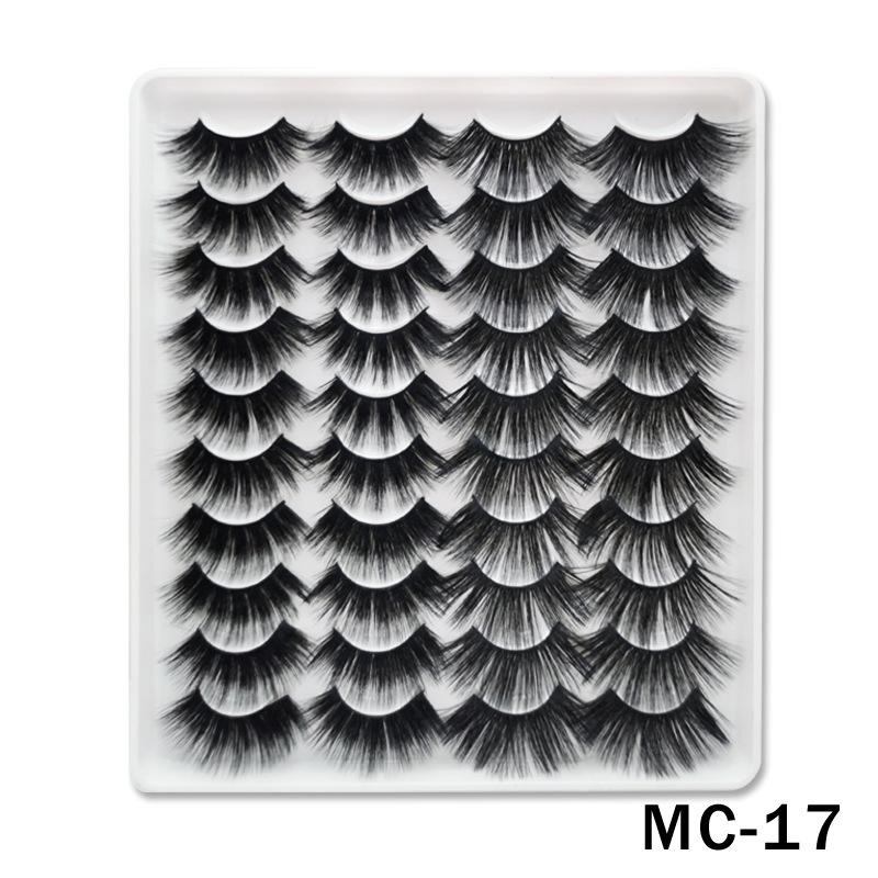 6D Mink False Eyelashes Handmade Extension Beauty Makeup False Eyelashes MC-17