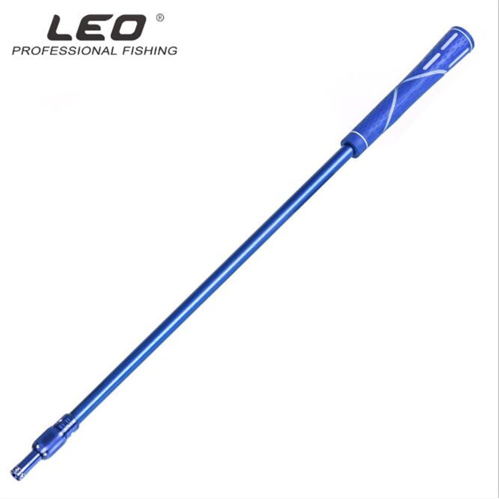 95cm Retractable Aluminum Alloy Fishing Net Rod Fishing rod