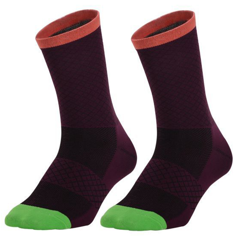 Thin Cycling Running Compression Wear-resistant Sports Socks purple_One size