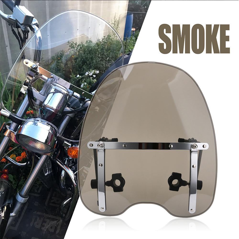 Motor Bike Motorcycle Motorbike Windshield Windscreen For Honda Shadow Transparent