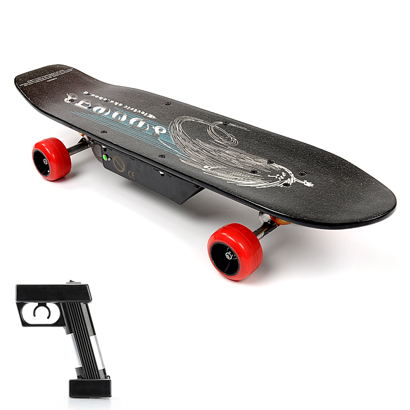 this electric street board is a wireless remote controlled