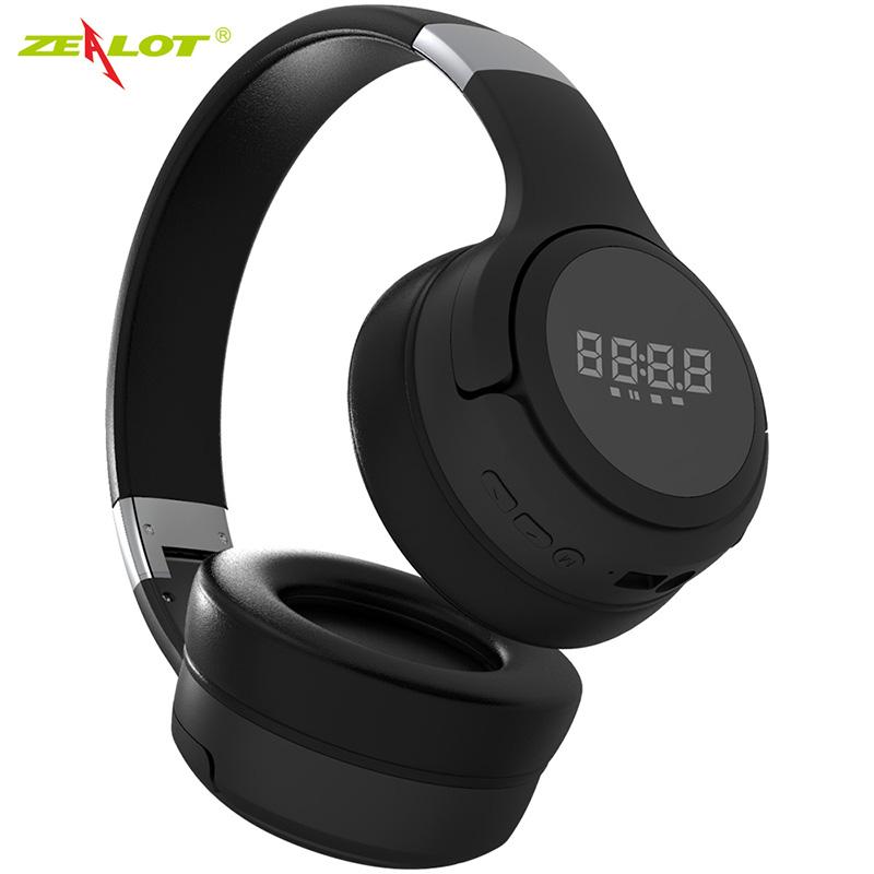 B28 Wireless Bluetooth Headphones Foldable Wireless Headset with Microphone black