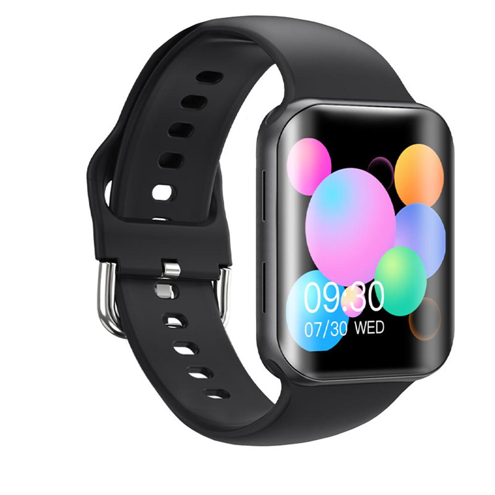 T68 Smart Watch Bluetooth Call Sleep Blodd Pressure Monitor Heart Rate Monitor Remote Control Smartwatch Black