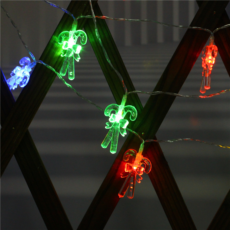 LED Cane Crutch String Light for Home Garden Lamp Yard Path Lamp Decoration color