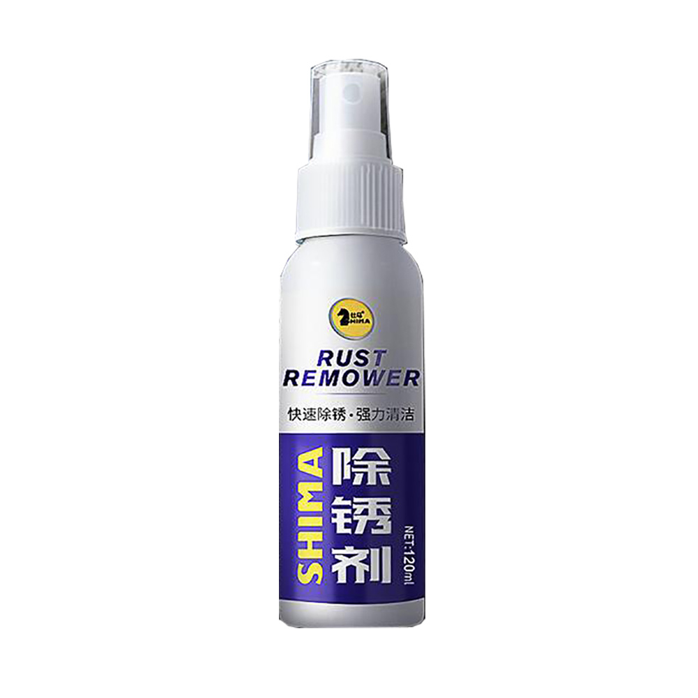 [Indonesia Direct] 120ml Rust Inhibitor Rust Remover Derusting Spray Car Maintenance Cleaning 120ml