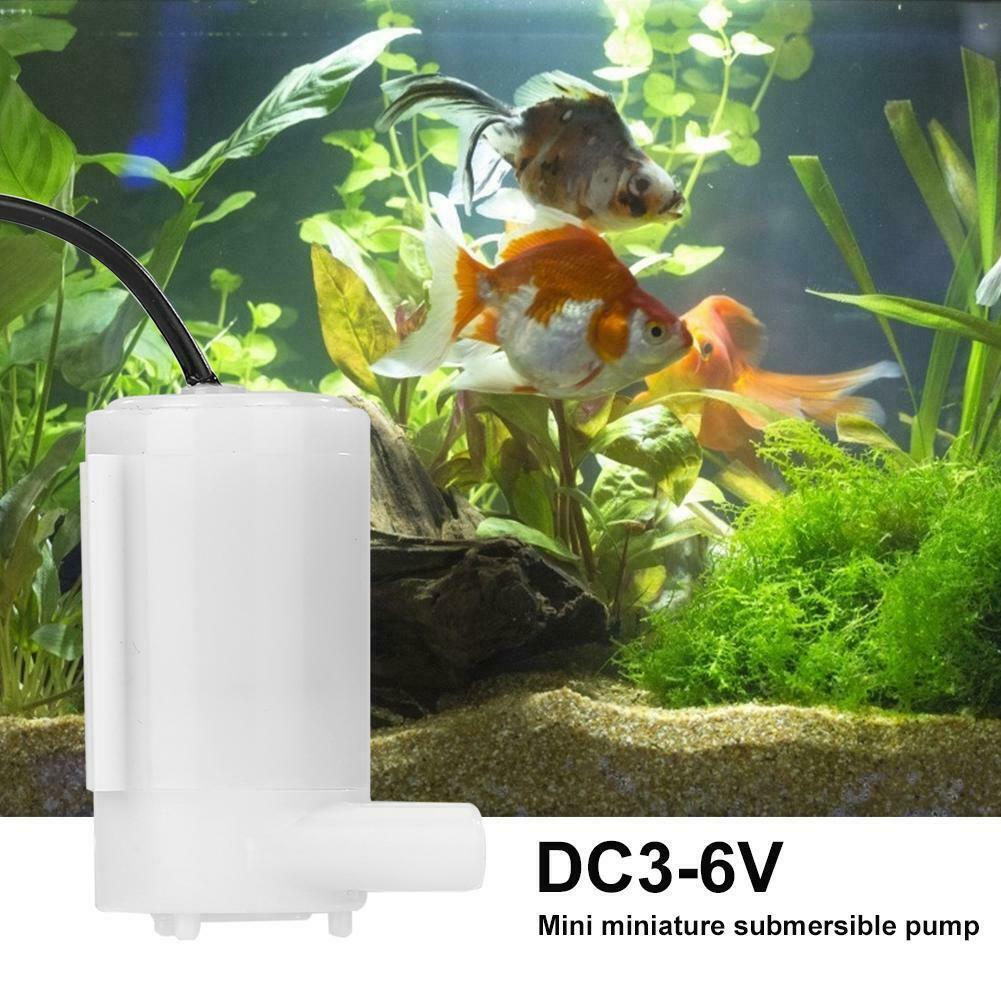 Silent Mini Water Pump DC3V5V6V9V Solar Charger Dc Water Pump amphibious