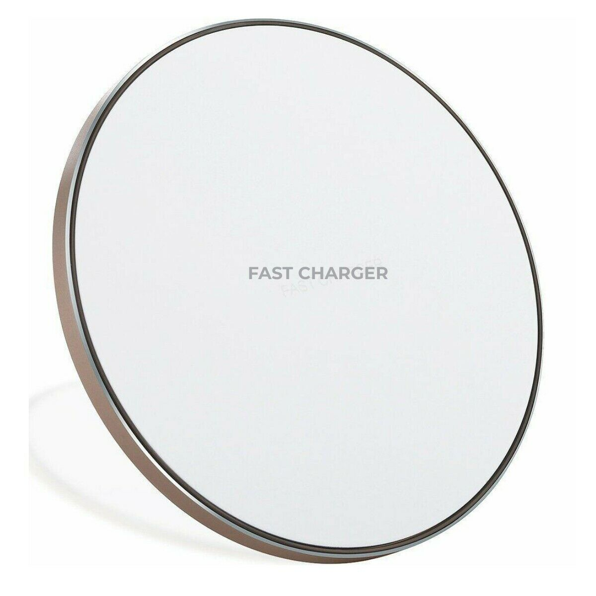 Qi Wireless Charger Fast Charging Pad for iPhone 8 X XS XR Samsung Galaxy S7 S8 S9 S10 white