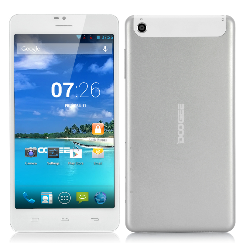 DOOGEE DG685 Android Phablet (Silver)