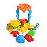 [EU Direct] Multi-colour beach Toys (mesh bag)