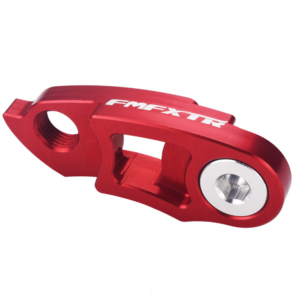 Road Bicycle Folding Bicycle Rear Dial Modified Tail Hook Hanger Extension Mountain Cycling Frame Gear Red