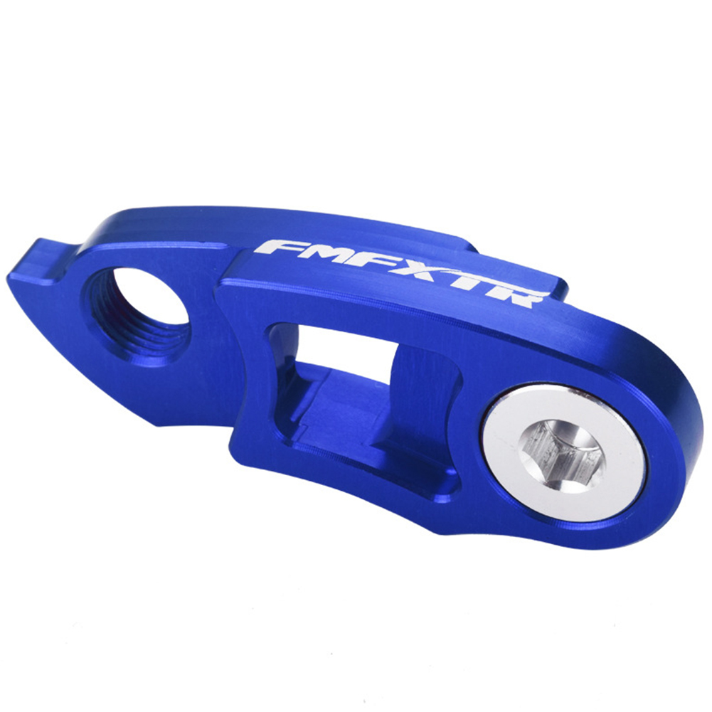 Road Bicycle Folding Bicycle Rear Dial Modified Tail Hook Hanger Extension Mountain Cycling Frame Gear Blue