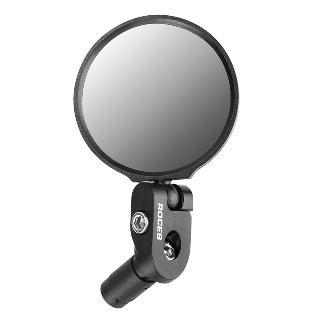 Flexible Bike Rearview Mirror Mountain Road Adjustable Cycling Rear Clear View Mirror For Bicycle Accessories Back Mirrors 087 black R standard_Free size
