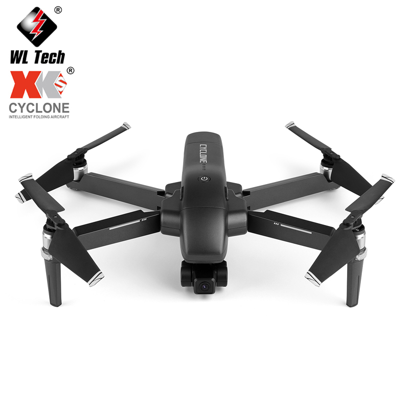 Wltoys Xk Q868 Brushless Drone Gps 5g Wifi Fpv With 2-axis Gimbal 4k Camera 30min Flight Time Rc Quadcopter  Drone Rtf Sg906 Pro2 1 battery